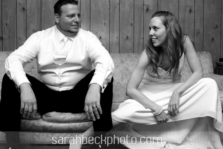 Crystal and Win's Valentine Wedding in black and white!