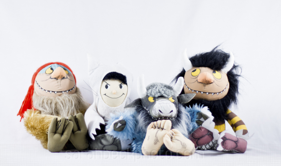 •Where The Wild Things Are• While I had the make shift commercial studio set up, we decided it was time to sell these guys. They were huge. I'm glad we got a group picture before they went to their new home.