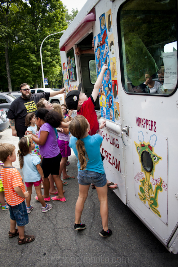 Surprise visits from ice cream trucks make birthday parties awesome.