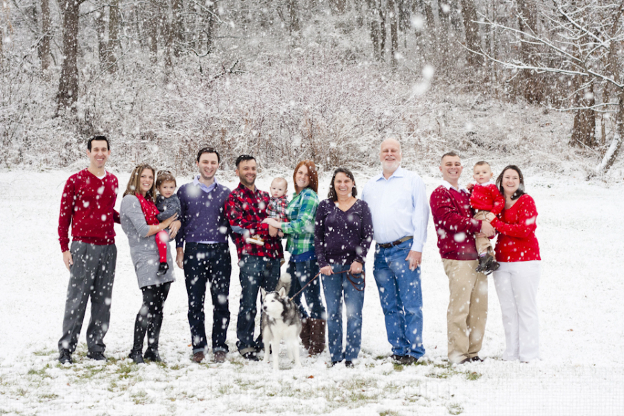 Hands down favorite family portrait of 2014. Could be the family. Could be the snow. But really, it's everything.