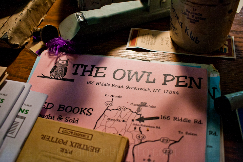 The Owl Pen, Greenwich NY