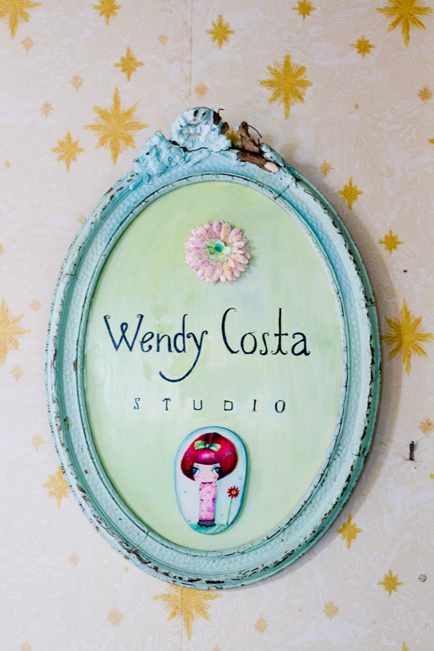 Wendy Costa's art, home, and studio.